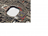 Aerial view of Metrodome