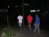 Walking to the hotel in the dark in Barquisimeto