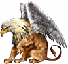 Gryphon:  Fantastic mythical creature
