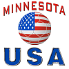 Not a scarf, but a Minnesota USA supporters banner