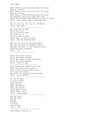 Old Songs Page 1