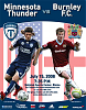 Thunder-Burnley FC Poster